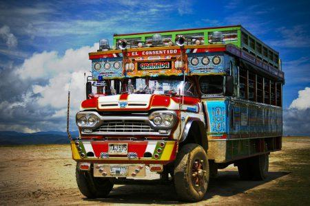 Peruanischer Reisebus